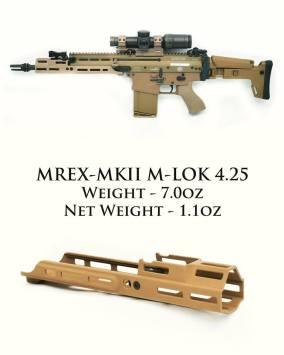 kinetic development group mrex mkii scar rail mlok scar rail scar extended rail