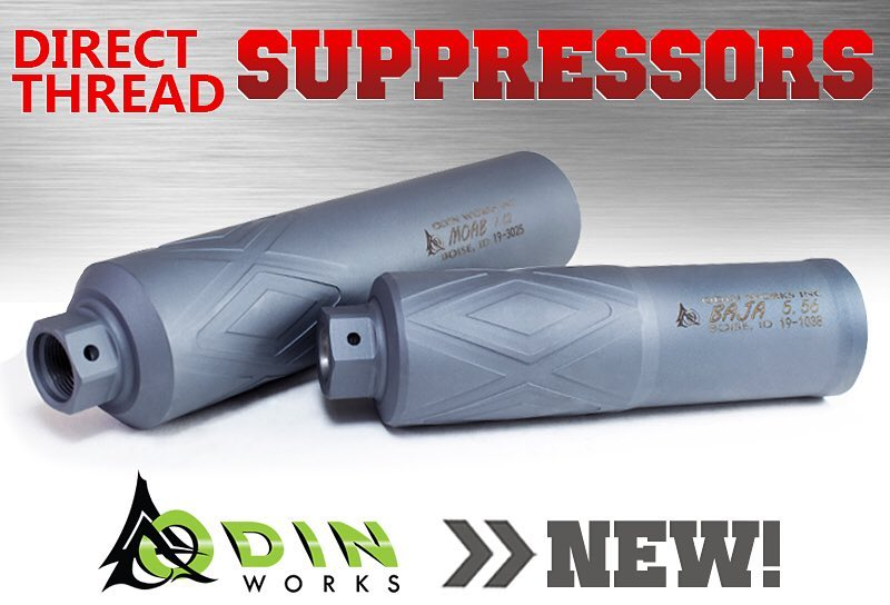 odin works baja 5.56 moab 7.62 direct thread suppressors 1