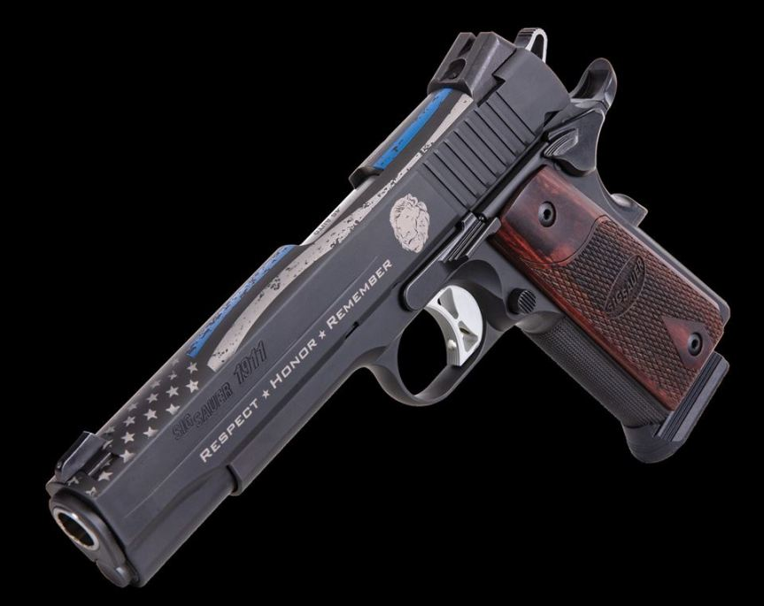 sig sauer Commemorative Pistols to Benefit National Law Enforcement Officers Memorial Fund 4.jpg