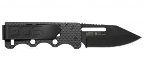 sog knives ultra C-TI blackout knife folding knife ultra light blade for carry