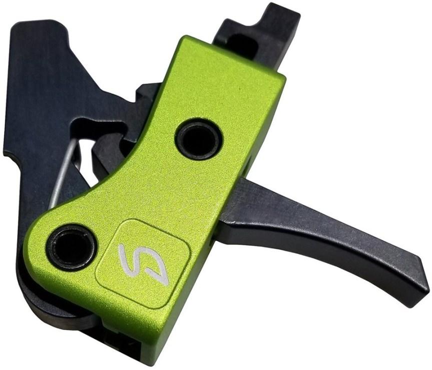 stern defense h2s drop in trigger for the ar-9 pistol caliber carbine custom trigger flat trigger for 9mm 40sw carbine  2.jpg
