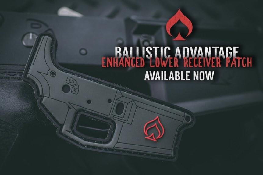 ballistic advantage ba enhanced lower receiver patch edc bag patches for your range bag 1