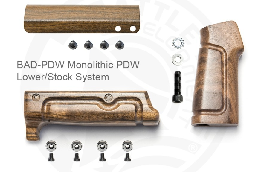 Battle arms development wood furniture for the AR15 wooden furniture forend for the AR15 out of wood  2.jpg