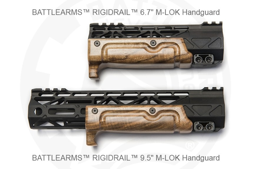 Battle arms development wood furniture for the AR15 wooden furniture forend for the AR15 out of wood 3