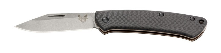 benchmade knife company 318-2 proper folding knnife carbon fiber scales high end knife 2.jpg