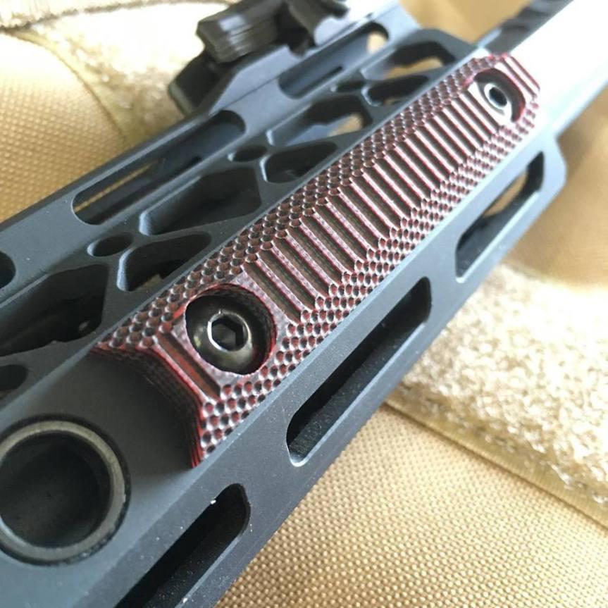 doublestar corp stronhold G10 Mlok panels ar15 heat sheild grip  3.jpg