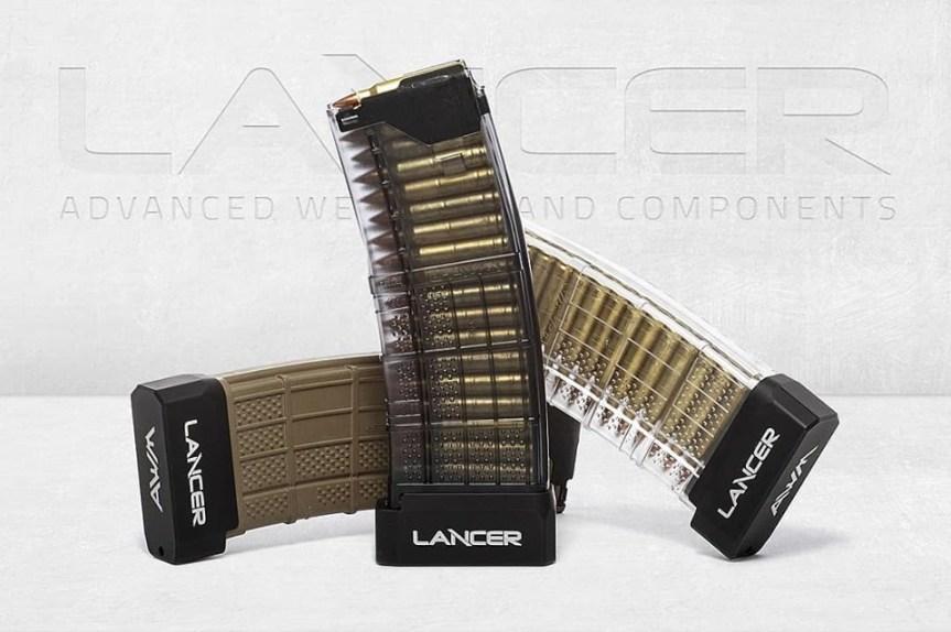 lancer systems l5awm magazines plus 6 ar15 magazine extension aluminum basepad.  a.jpg