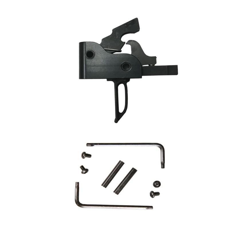 palmetto state armory PSA CUSTOM AR 3.5 LBS. MATCH GRADE SINGLE-STAGE DROP-IN TRIGGER, FLAT - 116055 ar15 replacement trigger flat trigger pinch your finger 4