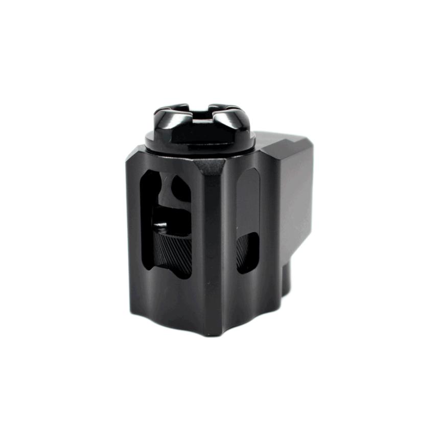 tyrant designs cnc glock 43 t-comp compensator for the glock 43 compensated glock 48 comp edc 2