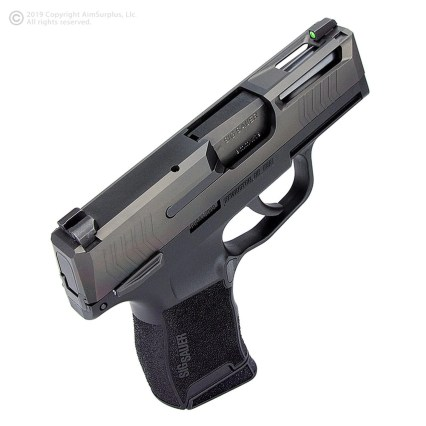 aim surplus sig sauer p365 custom slide stainless steel sig p365 slide cuts for optic p365 red dot