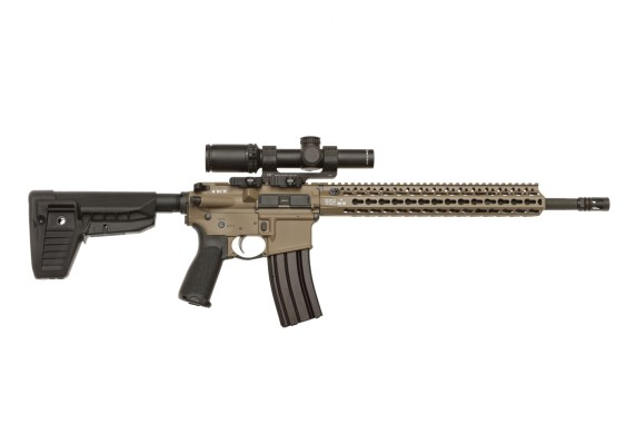 Bravo Company Machine BCMGUNFIGHTER stock mode 1 sopmod stock