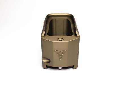 killer innovations velocity glock magazine extensions for the glock pistol mag floor plate extensions plus 5