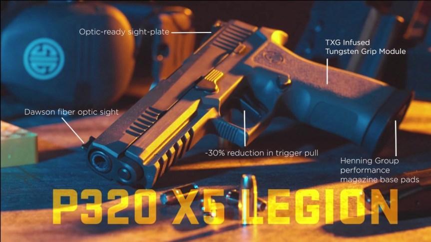 sig sauer p320 xfive legion racegun p320 competition shooting optic cut p320 a