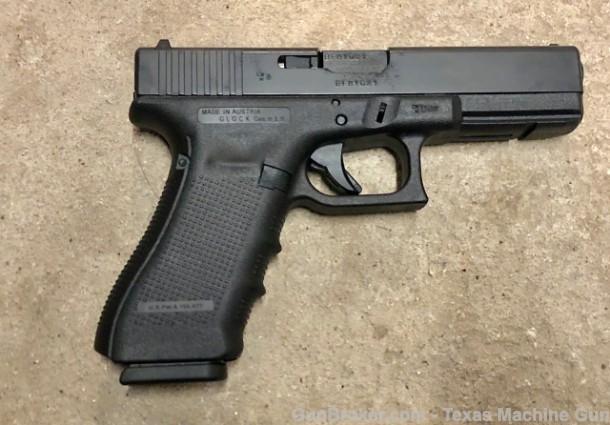 texas machine gun and ordnance glock 17 9x21mm gen 4 italian glock import 1