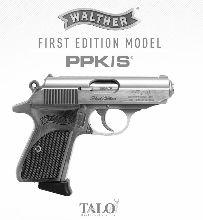 walther ppk s first edition talo edition 723364211072 stainless walther 1