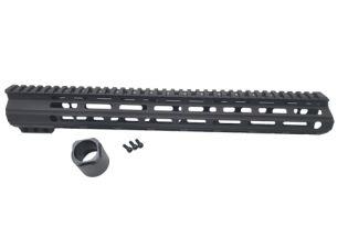 core rifle systems 15 inch handguard tuck under ar15 muzzle brake ar-15 handguard black rifle 2