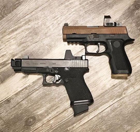 parker mountain machine 40sw compensator 10mm commpensator Glock 22 comp pmm glock 40 compensator 2