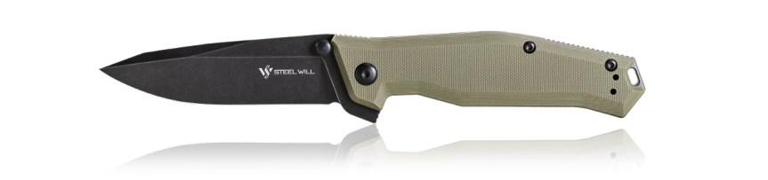 steel will knives apostate knives frame lock folder pocket knife with a s35vn steel blade frame lock pocket knife edc 1
