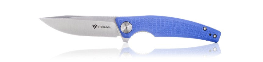 steel will knives shaula series knives liner lock pocket knife d2 steel folder knife 5