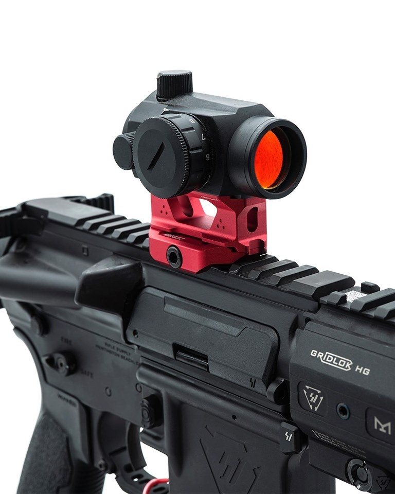 strike industries rex t1 riser mount SI-T1-RISER aimpoint riser mount cowitness absolute witness red dot optics 4