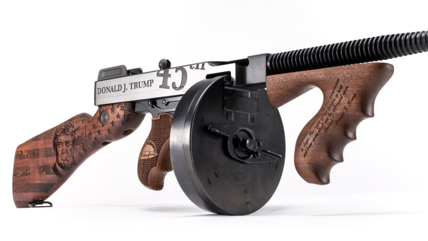 thompson Auto-ordnance kahr firearms group trump tommy gun make america great again gun 2