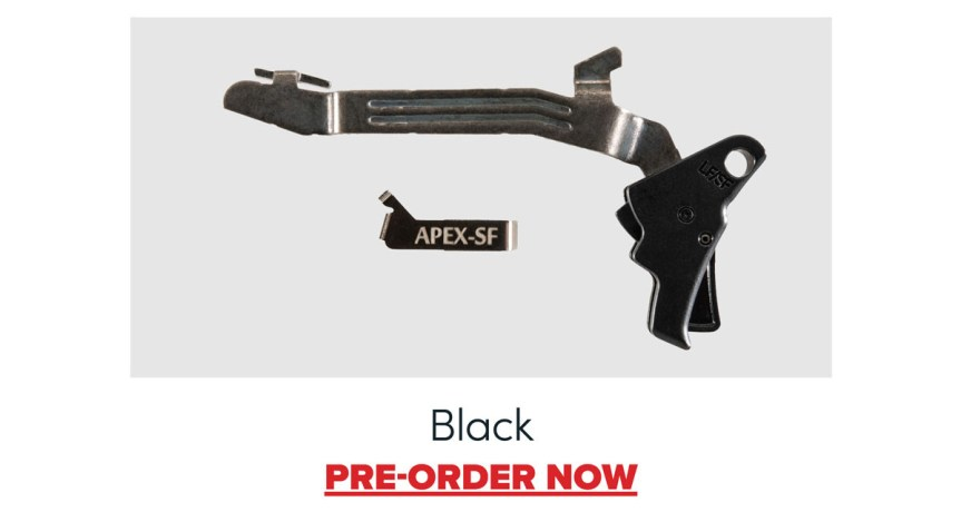apex tactical glock 43 43x 48 flat trigger action enhancement kits for slim line glocks custom trigger 2