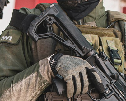 iwi arad modular battle rifle short stroke piston ar15 556 rifle polymer magazines modular desigh interchangeable ar parts