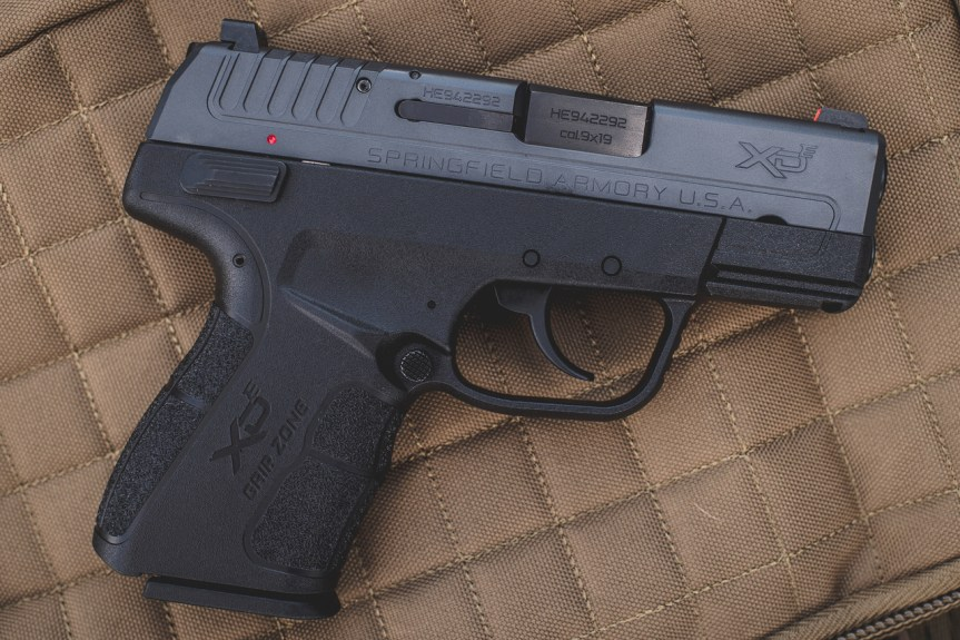langdon tactical edition springfield armory xd-e double action single action pistol concealed carry 9mm slimmest carry gun  1.jpg