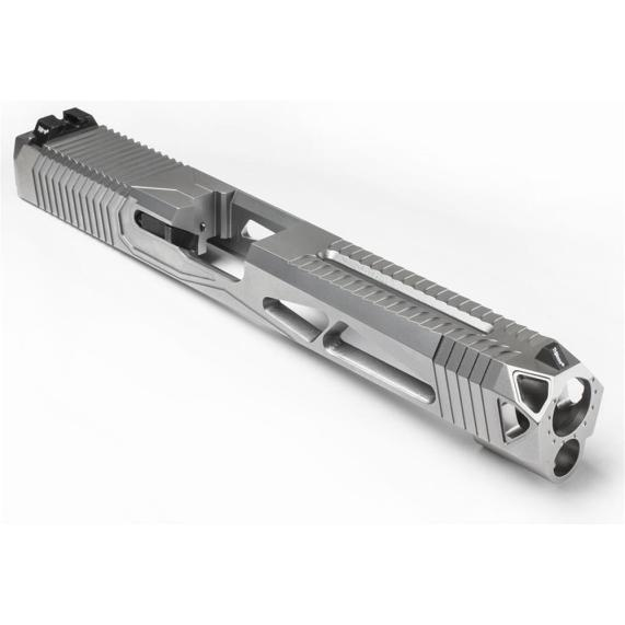 lone wolf distributors signature series 20 glock 26 custom slide serrations window cut glock 26 light slide custom work
