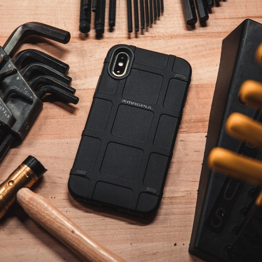 magpul industries magpul bump case for iphone x xs ruggedized case milspec iphone case 2.jpg