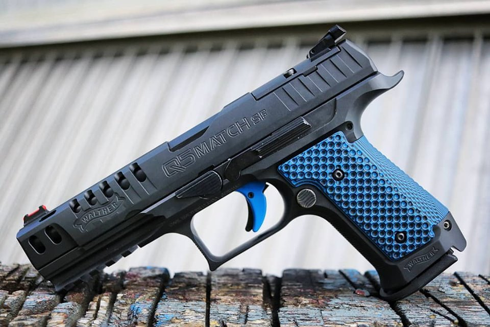 LOK GRIPS EXPANDS SUPPORT FOR THE WALTHER Q5 MATCH SF WITH NEW THIN BOGIES GRIPS
