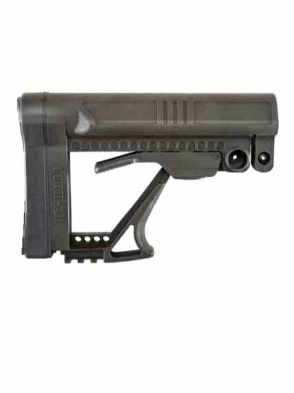 luth-ar mba-5 carbine buttstock ar15 precision stock for the ar-15 rifle black rifle