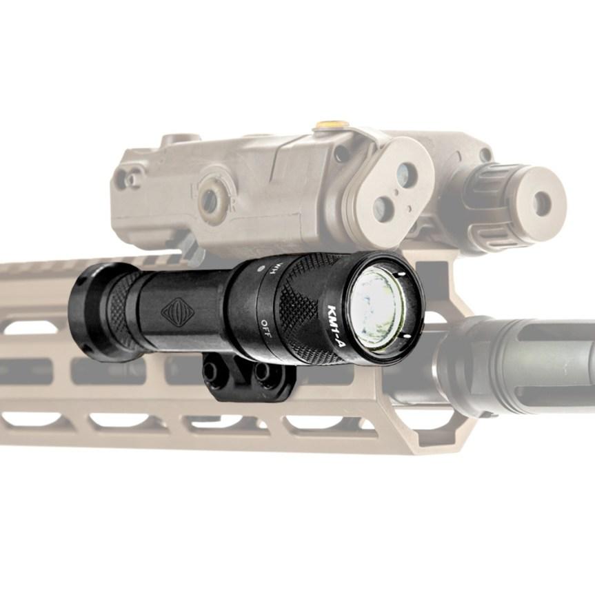 reptilia corp torch light body mlok mount light tight to rail under peq15 laser light mount 2
