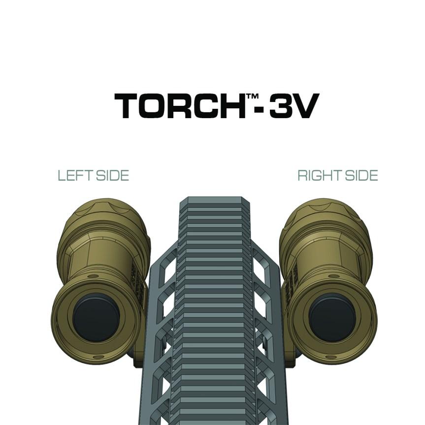 reptilia corp torch light body mlok mount light tight to rail under peq15 laser light mount  3.jpg