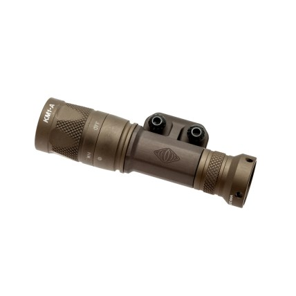 reptilia corp torch light body mlok mount light tight to rail under peq15 laser light mount