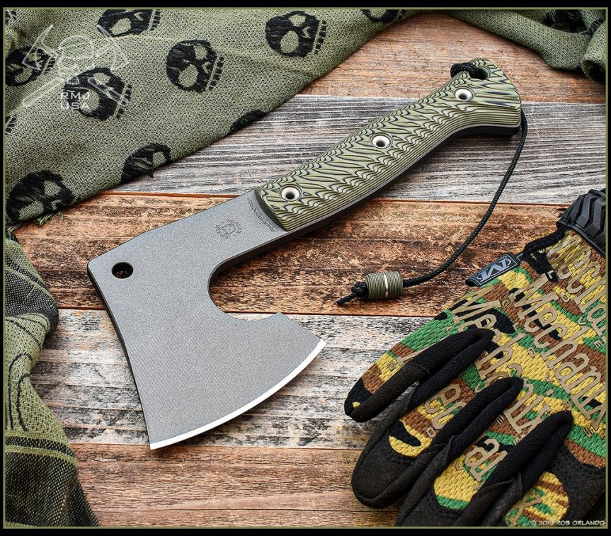 rmj tactical tom krein custom small bushcrafter axe for bushcrafting packing axe 3