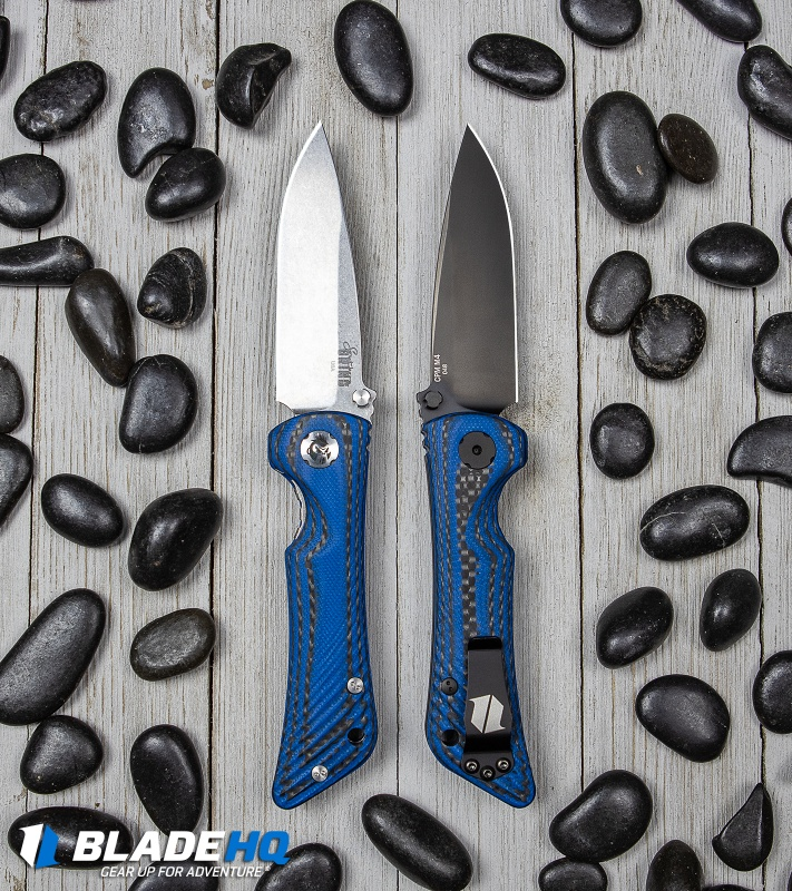 southern grind blade hq cmp-m4 blue spider monkey folder knife  3.jpg