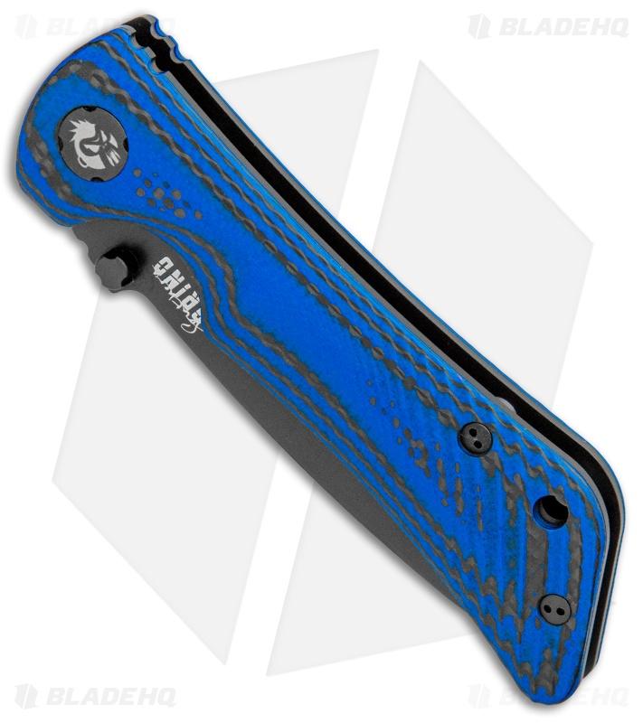 southern grind blade hq cmp-m4 blue spider monkey folder knife 5