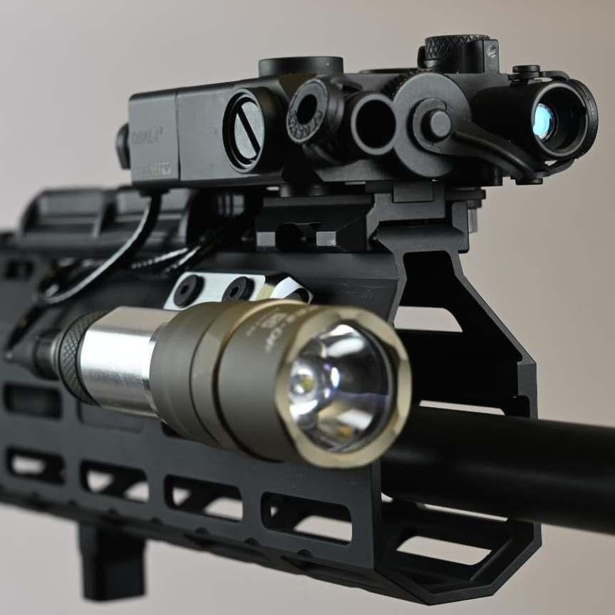 vahalla tactical baldr systems light mount tightest to the rail MLOK lightbody 3