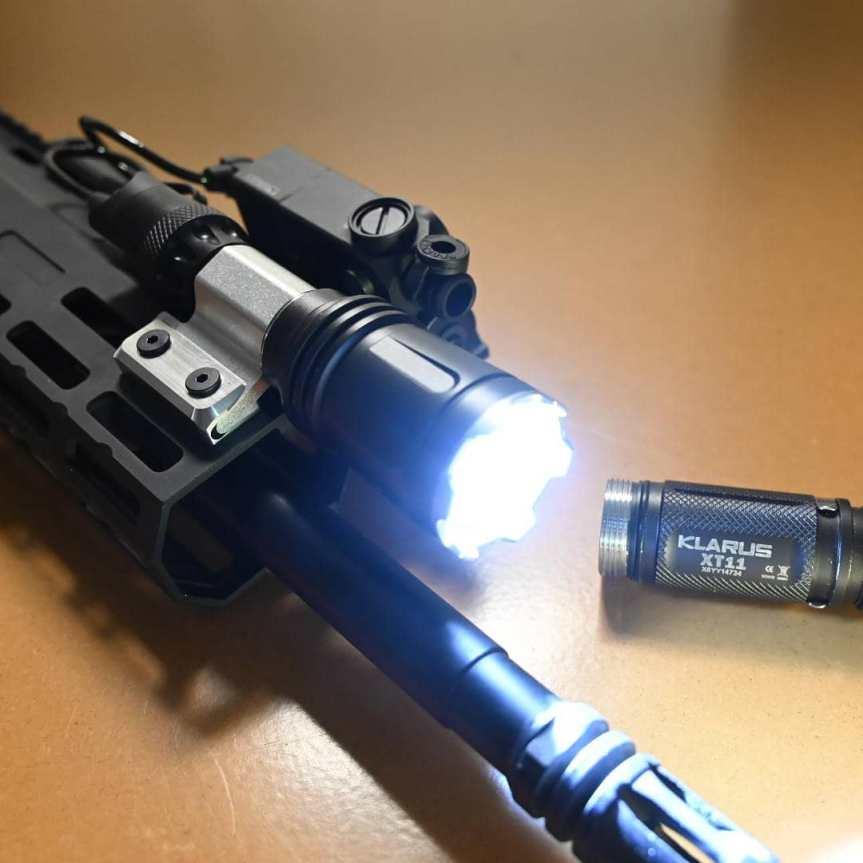 vahalla tactical baldr systems light mount tightest to the rail MLOK lightbody 4