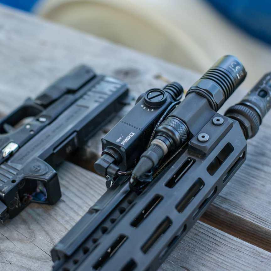 vahalla tactical baldr systems light mount tightest to the rail MLOK lightbody 6