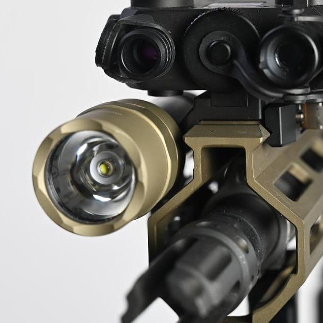 vahalla tactical baldr systems light mount tightest to the rail MLOK lightbody 7