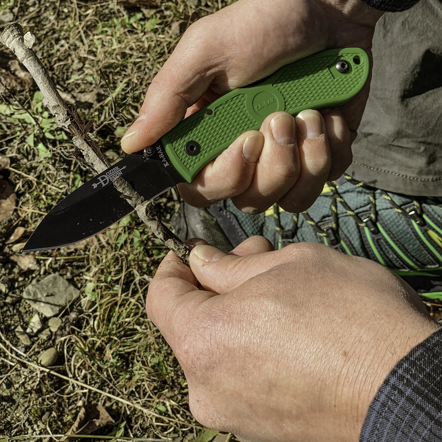 KA-BAR INTRODUCES THE 4062KG DOZIER FOLDING HUNTER KNIFE