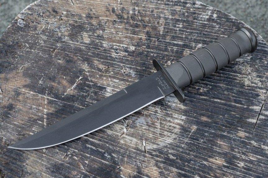 ka-bar knives 1266 modified tanto fixed blade knife 1065 cro-van steel blade  1.jpg