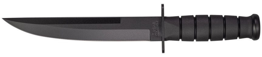 ka-bar knives 1266 modified tanto fixed blade knife 1065 cro-van steel blade  3.jpg