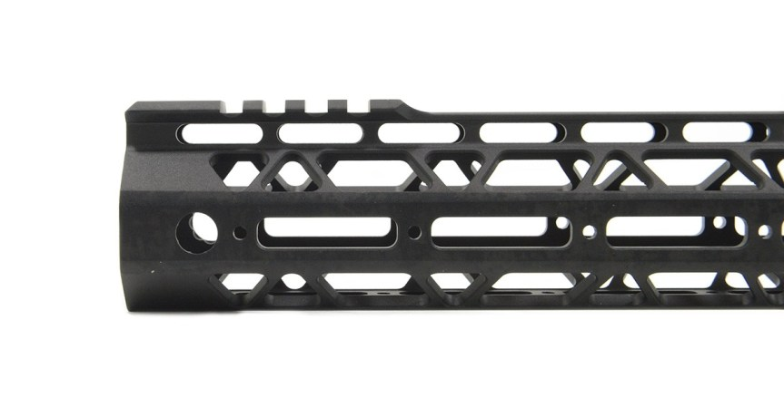 palmetto state armory PSA Custom Cross-cut Lightweigth 13.5 inch MLOK partial picatinny handguard AR15 forend 810029109437 2