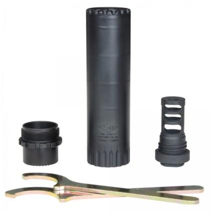 yankee hill machine turbo t2 5.56 rifle suppressor lightest ar15 silencer