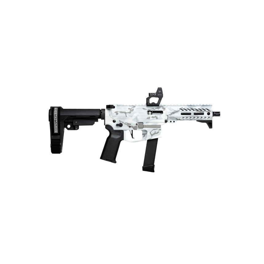 angstadt arms multicam alpine white udp-9 pistol ar-9 9mm pistol