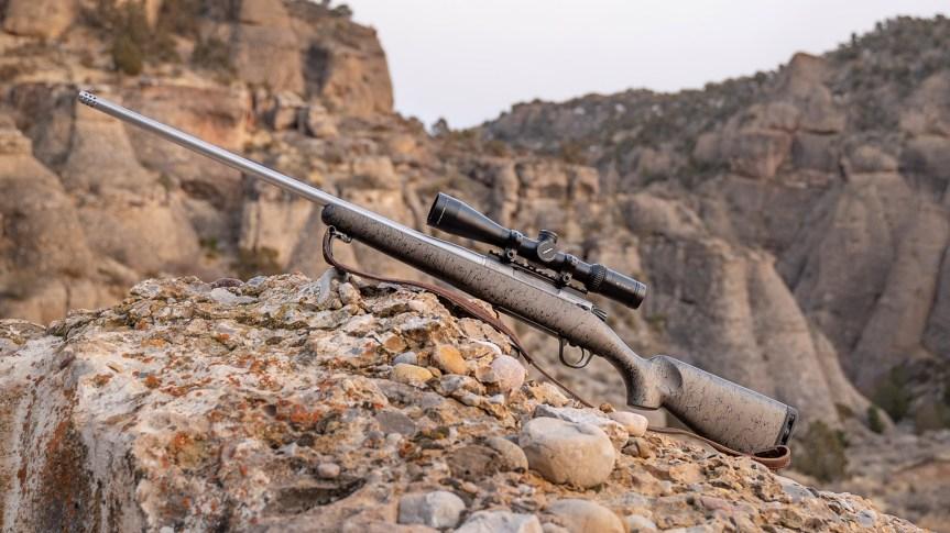 christensen arms titanium mesa redgeline rifle titanium 700 action 2