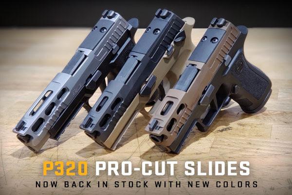 sig sauer p320 procut slides custom p320 slides 1